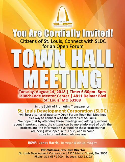 SLDCTownHall