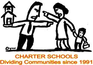 charter schools dividing communities since1991300