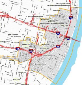 7th Ward Map